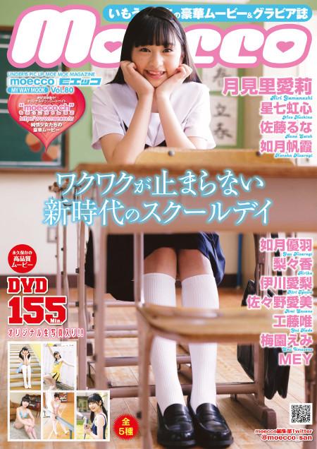 moecco(モエッコ) vol.80 動画+PDF書籍セット:お菓子系アイドル:パッケージ表