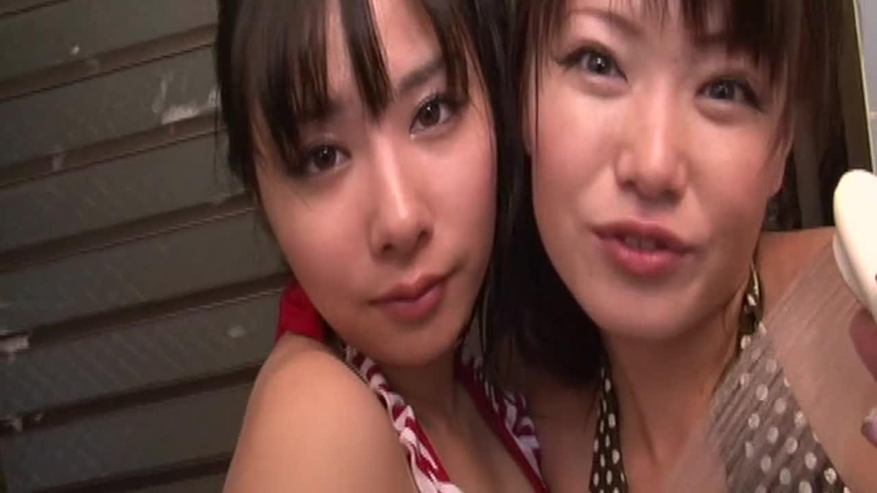 美少女にプロレスしてもらいました♪ 生田善子・新堂みなみ