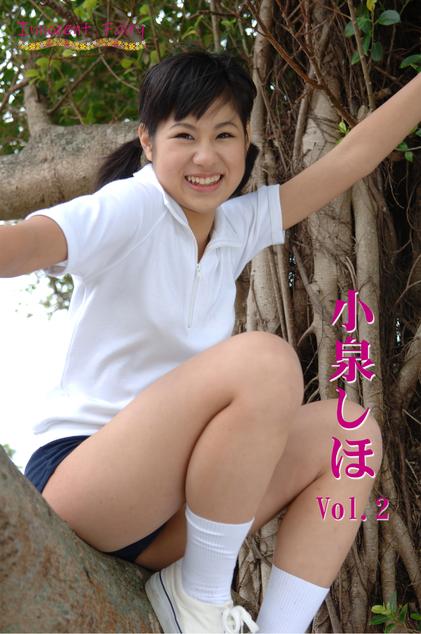 小泉しほ Vol.2 パッケージ裏